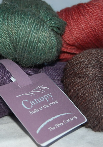 Mixed color Canopy fingering